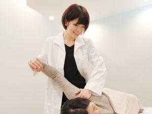 肩こり施術